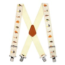 Free sample factory direct price Fashion Jeans Braces Striped Suspenders for women and baby