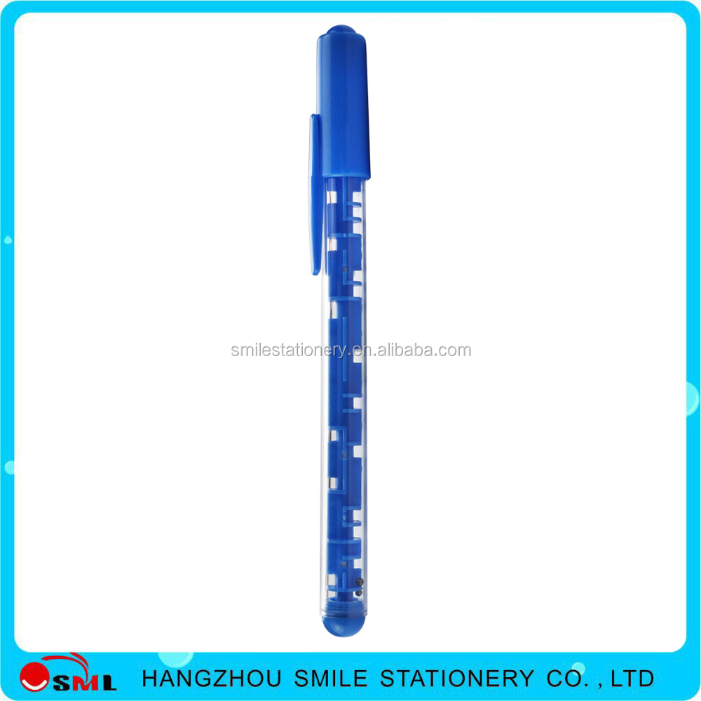 New products promotional plastic maze funny pen