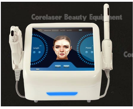 2017 New Corelaser two in one HIFU wrinkle removal and HIFU body shaping machine