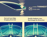 Perfect Optical Performance Eyeglasses Lens Double Aspheric ...