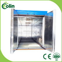 Top quality best-selling industrial charcoal powder coating oven for sale