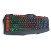 Rainbow led light usb Gaming computer keyboard