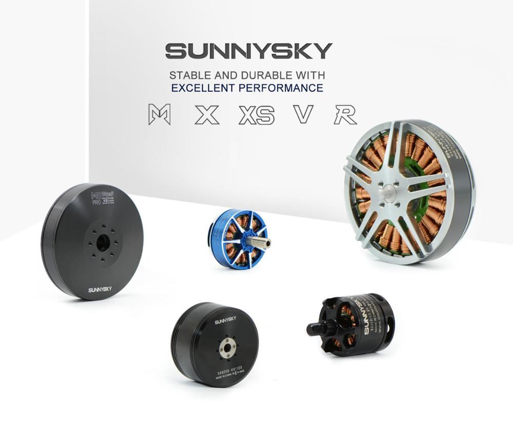 High efficiency motor V3508 Sunnysky for quad and professional aerial photography drone 580kv