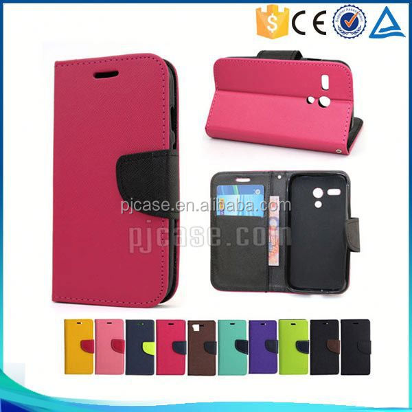 Hot sale Mixed colors pu leather flip cover case for LG g4 beat/g4s