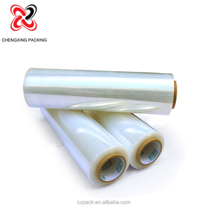 PE shrink wrap stretch film adhesive plastic covers in roll