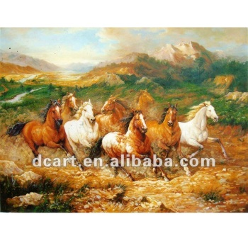 Famous Artist Painting Animals Horse For Reproduction - Buy 8 Horses  Painting,Running Horses Painting,Beautiful Horse Paintings Product on  Alibaba com