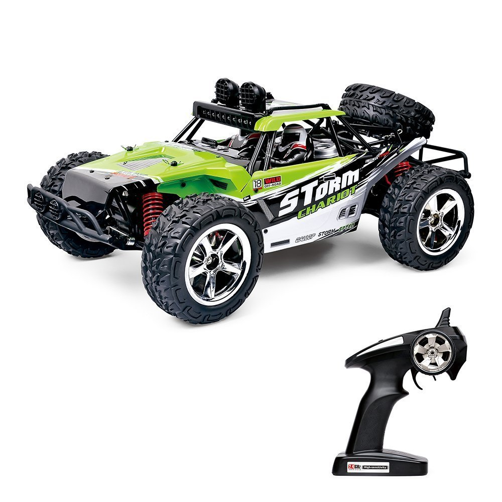 RC Trucks Remote Controls RC Cars Off Road High Speed 4WD 40km/h 1:12 Scale 50M Remote Control 2.4GHz Electric Vehicle Buggy Trucks with LED Night Vision