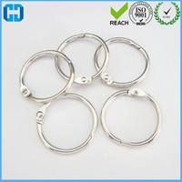Guangdong ScrapBook Large Metal Binding Rings For Photo Album Fittings