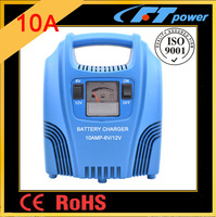 motorcycle 6V 12V switching batteries 10A 100Ah AGM GL MF batteries car charger