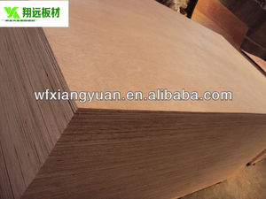 mahogany veneer plywood exported to Africa