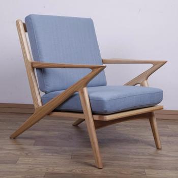 Mid Century Modern Poul Jensen Selig Z Chair Reproduction