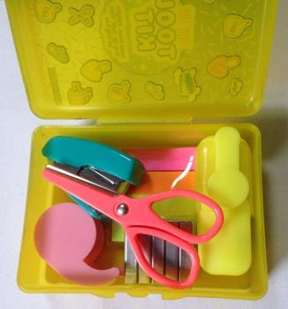 promotional stationery mini tool kit includes scissors highlighter