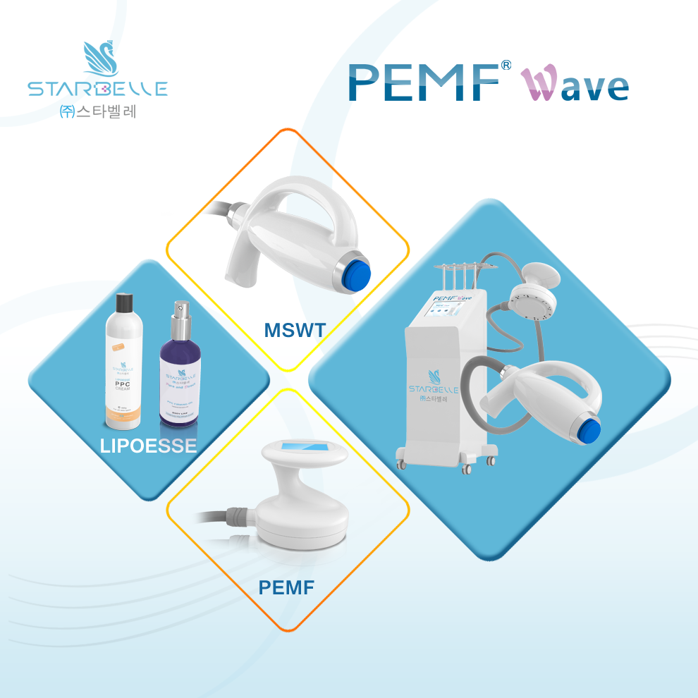 PEMF Wave Pulsed electro magnetic field therapy beauty device for obesity treatment & body contouring & fat loss
