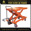 2000kg Foot-Operated Manual Hydraulic Mobile Lifter