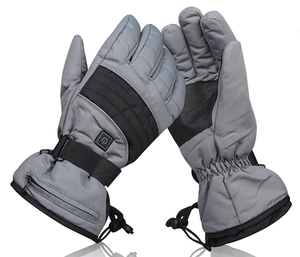 Battery Heated Thin Outdoor Thermal Fashion Waterproof Gloves with 3 Adjustable Temperature 2 Rechargeable Li-ion Battery