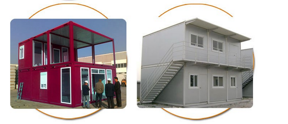 economic modular shipping or flatpack container for student's dormitory and classroom