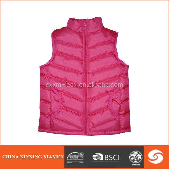 2016 Fashion classic women vest new arrival winter padded vest waistcoat colete feminino jacket