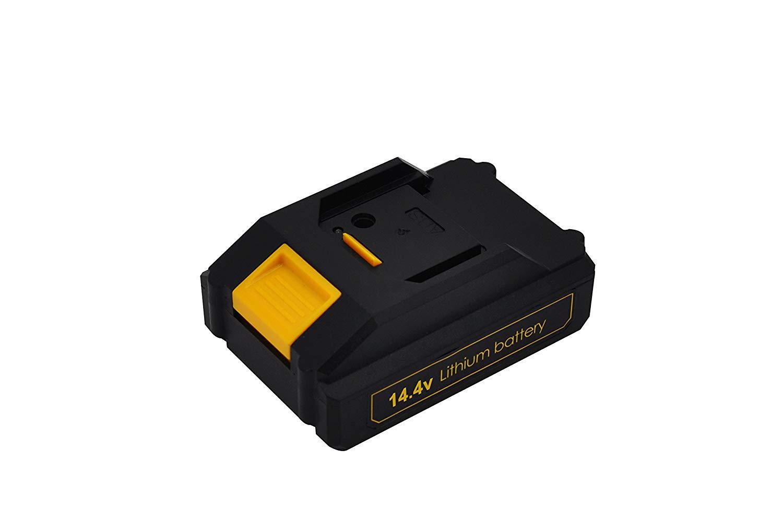 Werktough 1300mAh Replacement Li-ion Battery For Cordless Drill Driver D018 10.8V/12V 14.4V/16V 18V/20V (14.4V/16V)