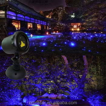 Battery Powered Outdoor Christmas Laser Lights P65 Christmas Star ...