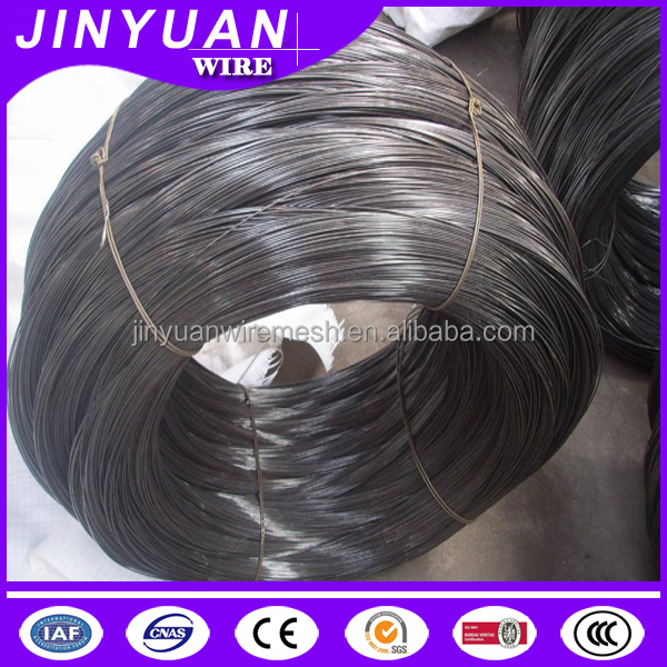 BWG12 Soft Black annealed iron wire 50kg/coil packing with plastic bags