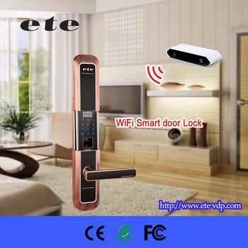 Ete Smart Home Product Hidden Keypad Entry Door Lock Electric Handle