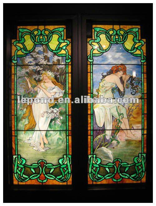 Stained Glass Door, Stained Glass Door Suppliers and Manufacturers ...