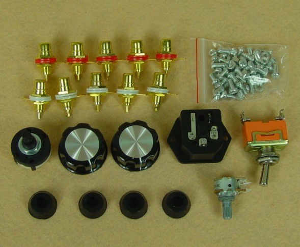 Class A Single Ended FU7//807 6N8P Tube Audio Amplifier HIFI Valve Amp DIY Kit