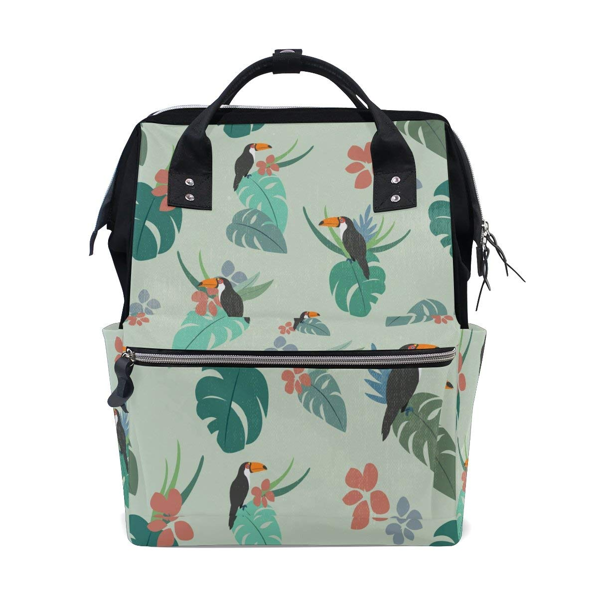 Diaper Bags Backpack Purse Mummy Backpack Fashion Mummy Maternity Nappy Bag Cool Cute Travel Backpack Laptop Backpack with Camouflage Print Daypack for Women Girls Kids
