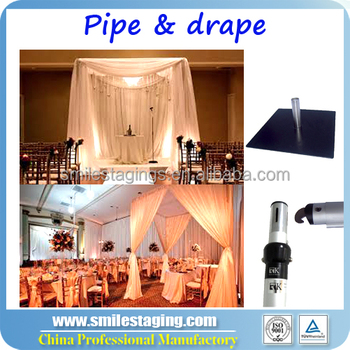 Pipe and drape photo booth package wedding decoration for Cheap wedding decoration packages