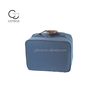 portable zipper bag with handle for clothes mutlifuntional cloth storage bags set with trolley belt for travel