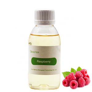 Pure fruit flavour raspberry concentrate liquid