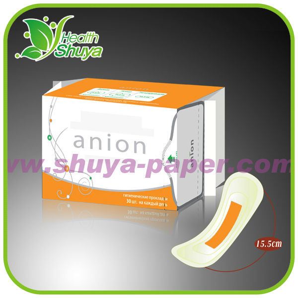 Green Strip Anion Panty Liner Manufacturer (Ultra Thin, Breathable)
