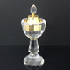 High quality arabic crystal incense burner glass big oil burner