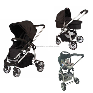 Premium Trend Driving Design Self-Stand Folding Convertible baby stroller 3 in 1