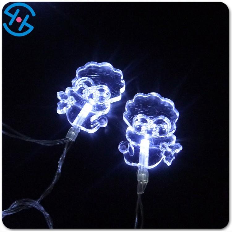 Christmas Decorative Lights Santa Claus Shaped Led String Light - Buy Led String Lights ...