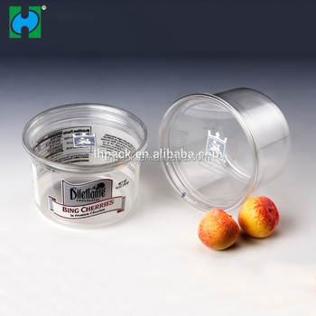 Wholesale Disposable Food Plastic Container Lunch Box Fruit Salad Container