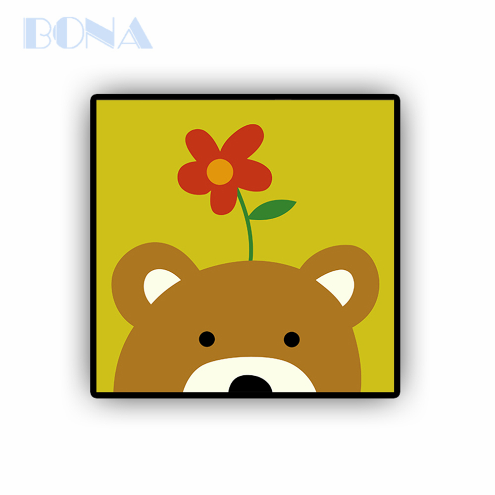 Bona Bear Oil Painting By Numbers Arts Crafts