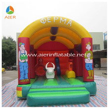bouncers inflatables, barn/farm bounce houses