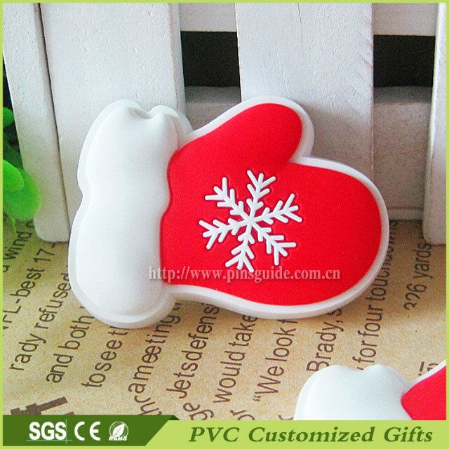 Christmas Gloves High-quality Promotional Gift of Fridge Magnet