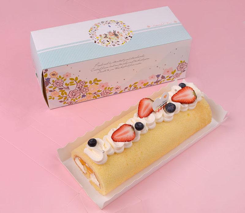 Swiss Roll Cake Box