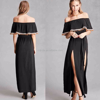 Sexy Plus Size Dresses Sexy Honeymoon Off The Shoulder Maxi Dress