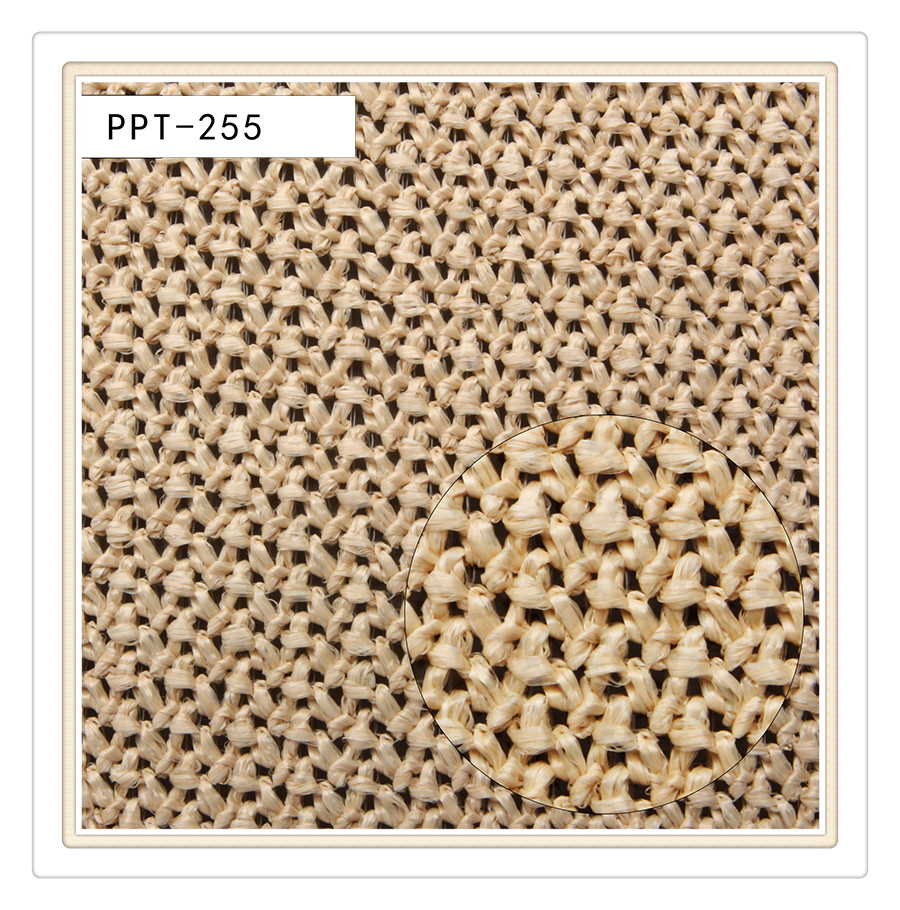 Customized Color!Paper fabric for bag,straw fabric