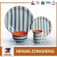 tin mill black plate of turkish dinnerware set porcelain dinnerware set