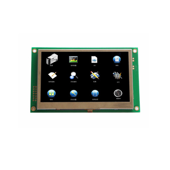 "480x272rgb 4.3"" tft color smart terminal lcd module with 4-wire resistive touch panel"