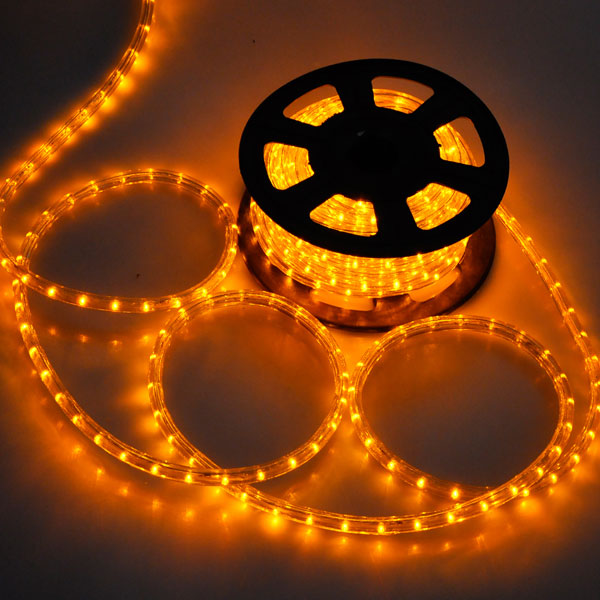 Festive Outdoor Commercial Christmas Rope Light Silhouette