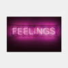 feelings neon advertising sign