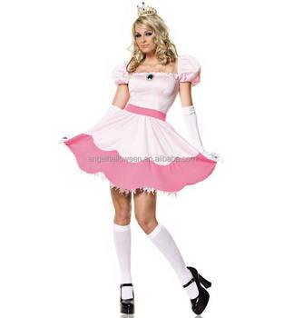 Prinzessin Pfirsich Super Mario Damen Kostüme Henne Agc4165 Buy