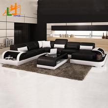 черный кожаный угловой диван распродажа купить черный кожаный