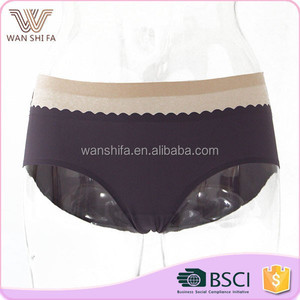 Nylon girl underwear sexy latest lady panty models designs women briefs