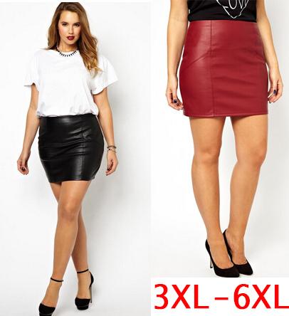 Plus size mini sexy skirts